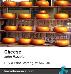 Cheese by John Rizzuto - Photograph - Photography