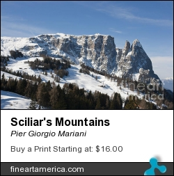 Sciliar's Mountains by Pier Giorgio Mariani - Photograph - Photo