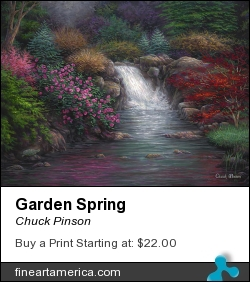 Garden Spring by Chuck Pinson - Painting - Oil On Canvas