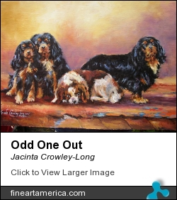 Odd One Out by Jacinta Crowley-Long - Painting - Oil On Canvas
