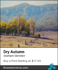 Dry Autumn by Graham Gercken - Painting - Oil On Canvas