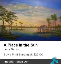 A Place In The Sun by Jerry Sauls - Painting - Oil On Canvas