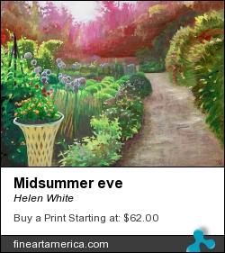 Midsummer Eve by Helen White - Painting - Oil On Canvas