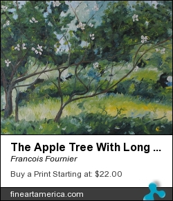 The Apple Tree With Long Branches by Francois Fournier - Painting - Oil Painting