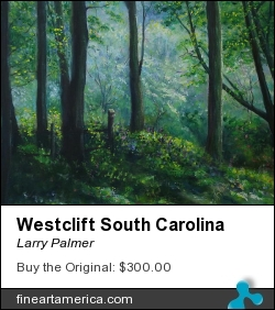 Westclift South Carolina by Larry Palmer - Painting - Acrylic