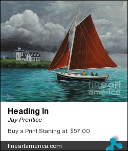 Heading In by Jay Prentice - Painting - Acrylic On Canvas