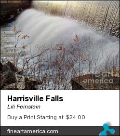 Harrisville Falls by Lili Feinstein - Photograph - Photographic Print