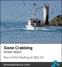 Gone Crabbing by Kristal Talbot - Photograph - Photo