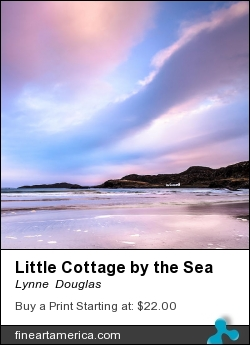 Little Cottage By The Sea by Lynne  Douglas - Photograph - Giclee Print