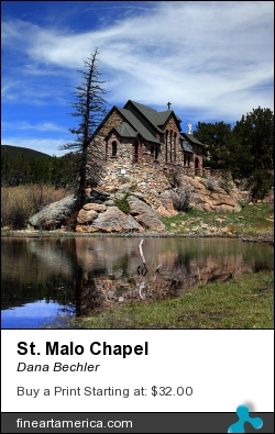 St. Malo Chapel by Dana Bechler - Photograph - Digital Photography