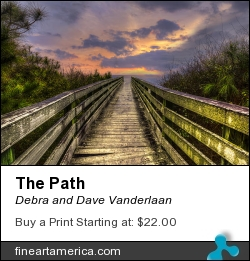 The Path by Debra and Dave Vanderlaan - Photograph - Photography