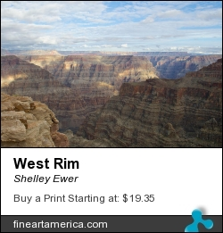 West Rim by Shelley Ewer - Photograph - Photography