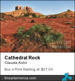 Cathedral Rock by Claudia Kuhn - Photograph - Photography