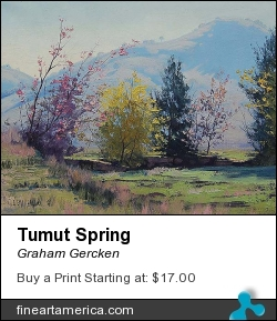 Tumut Spring by Graham Gercken - Painting - Oil On Canvas