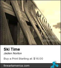 Ski Time by Jaden Norton - Photograph