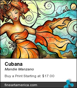 Cubana by Mandie Manzano - Digital Art